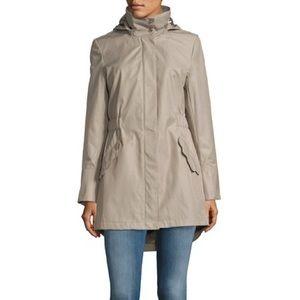 Scalloped Rain Jacket w/ Flare Sleeves